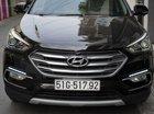 Xe Hyundai Santa Fe 2.4L 4WD sản xuất 2017, màu đen