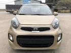 Bán ô tô Kia Morning đời 2015 màu vàng cát