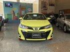 Toyota Yaris 2019 số tự động, màu vàng chanh nhập Thái Lan, xe có giao ngay đi chơi Tết