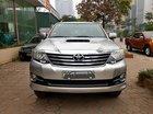 Bán Toyota Fortuner G 2015, màu bạc
