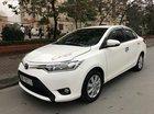 Bán ô tô Toyota Vios 1.5E MT sản xuất 2017, màu trắng, giá tốt