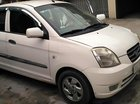 Bán Kia Morning LX màu trắng, đời 2005, đăng ký lần đầu 2007, số tự động, máy xăng