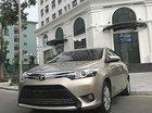 Bán lại xe Toyota Vios 1.5G năm sản xuất 2017, màu vàng giá cạnh tranh