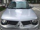 Cần bán gấp Mitsubishi Triton GLS đời 2010, màu bạc ít sử dụng