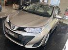 Toyota Vios 1.5E số sàn, màu nâu vàng, hỗ trợ vay 90%, đăng ký grab, thanh toán 130tr nhận xe - Toyota An Thành