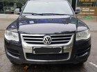 Cần bán Volkswagen Touareg model 2009, màu đen, máy dầu