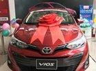 Bán xe Toyota Vios 2019, hỗ trợ trả góp giá tốt, xe giao ngay đủ màu lựa chọn