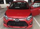 Bán Toyota Wigo 1.2MT số sàn, màu đỏ, xe nhập, hỗ trợ vay 85%. Thanh toán 100tr nhận xe ngay
