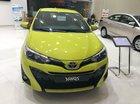 Bán Toyota Yaris 1.5G đời 2019 màu vàng chanh, giao ngay