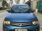 Bán xe Mitsubishi Triton GLX 4x2 MT 2012, màu xanh lam, nhập khẩu giá cạnh tranh