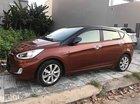Bán Hyundai Accent đời 2014, màu nâu, nhập khẩu, Đk 8/2014