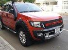 Cần bán Ford Ranger WildTrak 3.2 năm sản xuất 2014, màu đỏ, nhập khẩu còn mới