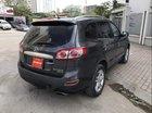 Cần bán gấp Hyundai Santa Fe 2011, màu đen, xe nhập