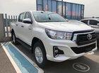 Bán Toyota Hilux 2.4E 4x2AT 2018 màu trắng