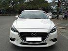 Cần bán Mazda 3 hatback, AT sản xuất năm 2018, màu trắng