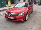 Cần bán lại xe Mercedes C300 đời 2012, màu đỏ, nhập khẩu nguyên chiếc