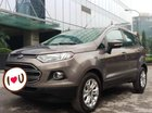 Cần bán Ford EcoSport Tinanium AT 1.5 đời 2016, màu nâu