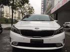 Bán Cerato 1.6AT sản xuất 2017 màu trắng, địa chỉ: 15 Dương Đình Nghệ, Cầu Giấy, Hà Nội