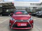 Bán ô tô Toyota Yaris 1.5G sản xuất 2017, màu đỏ, nhập khẩu