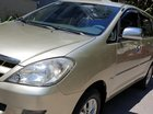 Bán Toyota Innova G 2.0 số sàn đời T5/2008 màu ghi vàng 1 đời chủ mới 80%