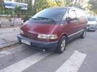Bán xe Toyota Previa sản xuất năm 1990, màu đỏ, chính chủ bao ký rút hồ sơ gốc
