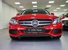 Cần bán xe Mercedes C200 năm 2019 màu đỏ, sang trọng có ưu đãi lớn