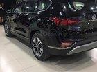 Bán xe Hyundai Santa Fe năm 2019, màu đen