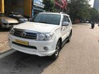 Bán Toyota Fortuner Sportivo Model 2012 số tự động, 2 cầu, máy xăng, màu trắng, giá tốt