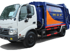 Bán Hino XZU 342l năm 2018, màu xanh lam, xe nhập, giá 800tr