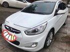Cần bán Hyundai Accent AT năm 2013, màu trắng, xe đẹp leng keng