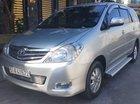 Cần bán Toyota Innova 2011, số tự động, ghế da, không đâm đụng va quẹt, công ty xuất hóa đơn