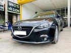 Bán Mazda 3 2017, màu đen, 625tr