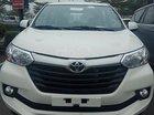 Bán xe Toyota Avanza 1.3 sản xuất năm 2018, số sàn, máy xăng, màu trắng, nội thất đen
