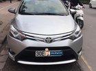 Cần bán xe Toyota Vios 1.5G năm sản xuất 2017, màu bạc số tự động