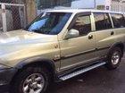 Lên đời bán xe Ssangyong Musso 2004, màu vàng, nhập khẩu
