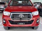 Bán Toyota Hilux 2.4G AT máy dầu, màu cam, nhập khẩu nguyên chiếc, khuyến mãi khủng