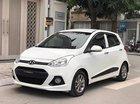 Cần bán Hyundai Grand i10 1.2 AT năm 2016, màu trắng, odo 20000 km