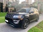 Bán Ford Explorer Limited 2.3L EcoBoost đời 2017, màu đen, xe nhập