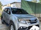 Cần bán xe Isuzu Mu-X 2018, màu bạc, odo 50.000km