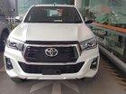 Bán Toyota Hilux 2.8G 4x4 AT sản xuất 2019, màu trắng, xe nhập