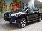 Bán Toyota Hilux đời 2019, màu đen, nhập khẩu, 695tr