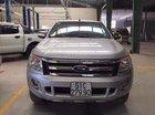 Bán ô tô Ford Ranger XLT 2.2 MT 4X4 đời 2013, màu bạc, xe nhập