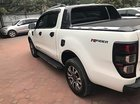 Cần bán xe Ford Ranger Wildtrak đời 2017, màu trắng, xe cá nhân đi một mình từ đầu