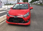 Bán Toyota Wigo 1.2AT sản xuất 2019, màu đỏ, xe nhập - khuyến mãi tốt