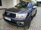 Cần bán Toyota Fortuner G sản xuất 2010, màu đen, 630 triệu