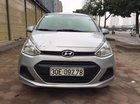Cần bán gấp Hyundai Grand i10 MT 2016, màu bạc, nhập khẩu, biển Hà Nội, không lỗi nhỏ
