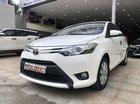 Cần bán Toyota Vios 1.5G (CVT) 2017, màu trắng, giá 540tr