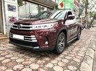 Cần bán xe Toyota Highlander cũ đời 2018 màu đỏ đun, giá cực tốt. LH 093.798.2266