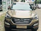 Cần bán xe Hyundai Santa Fe năm 2016, màu Cafe, giá 880tr