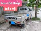 Cần bán gấp Suzuki Carry sản xuất 2014, màu bạc